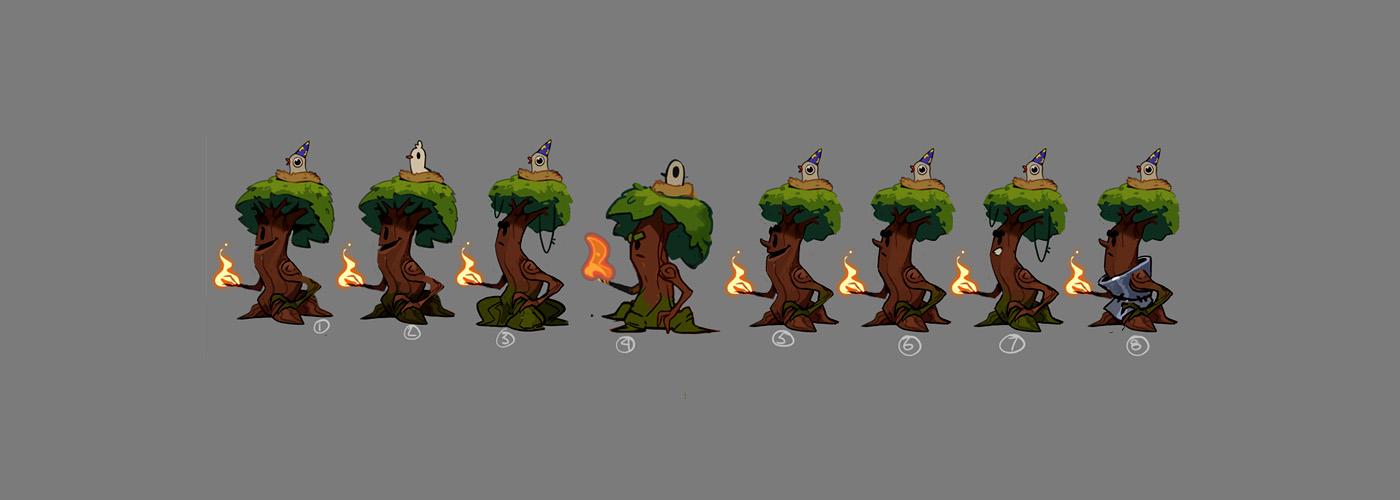 Devblog: Designing Arbara, Almost a Hero's Fire mage tree
