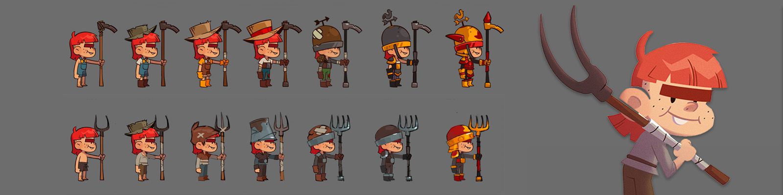 Devblog: Designing Oy, Almost a Hero's two-in-one Defender